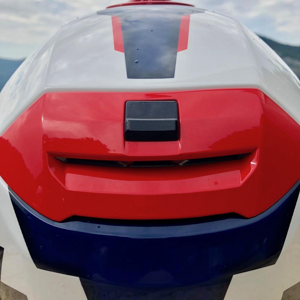 Le casque HJC RPHA 90, et son système de ventilation