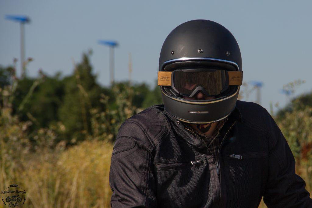 Le casque Dexter Marty peut s'accompagner du masque Dexter binocle
