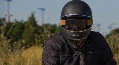 Le casque Dexter Marty ici avec le masque Dexter Binocle