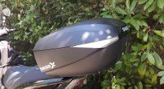 Esthétique du top case Shad SH 58X en position L