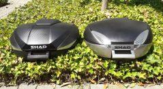 Le top case Shad SH 58X versus le SH 48.