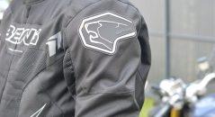 Logo sur les épaules du blouson Bering Mistral