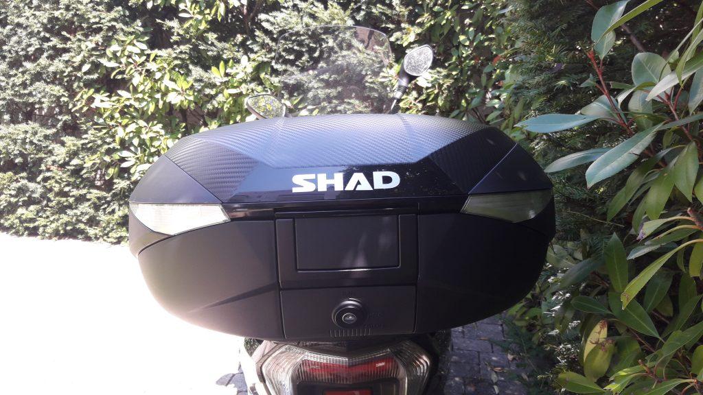 Top case Shad SH 58X vue de l'arrière