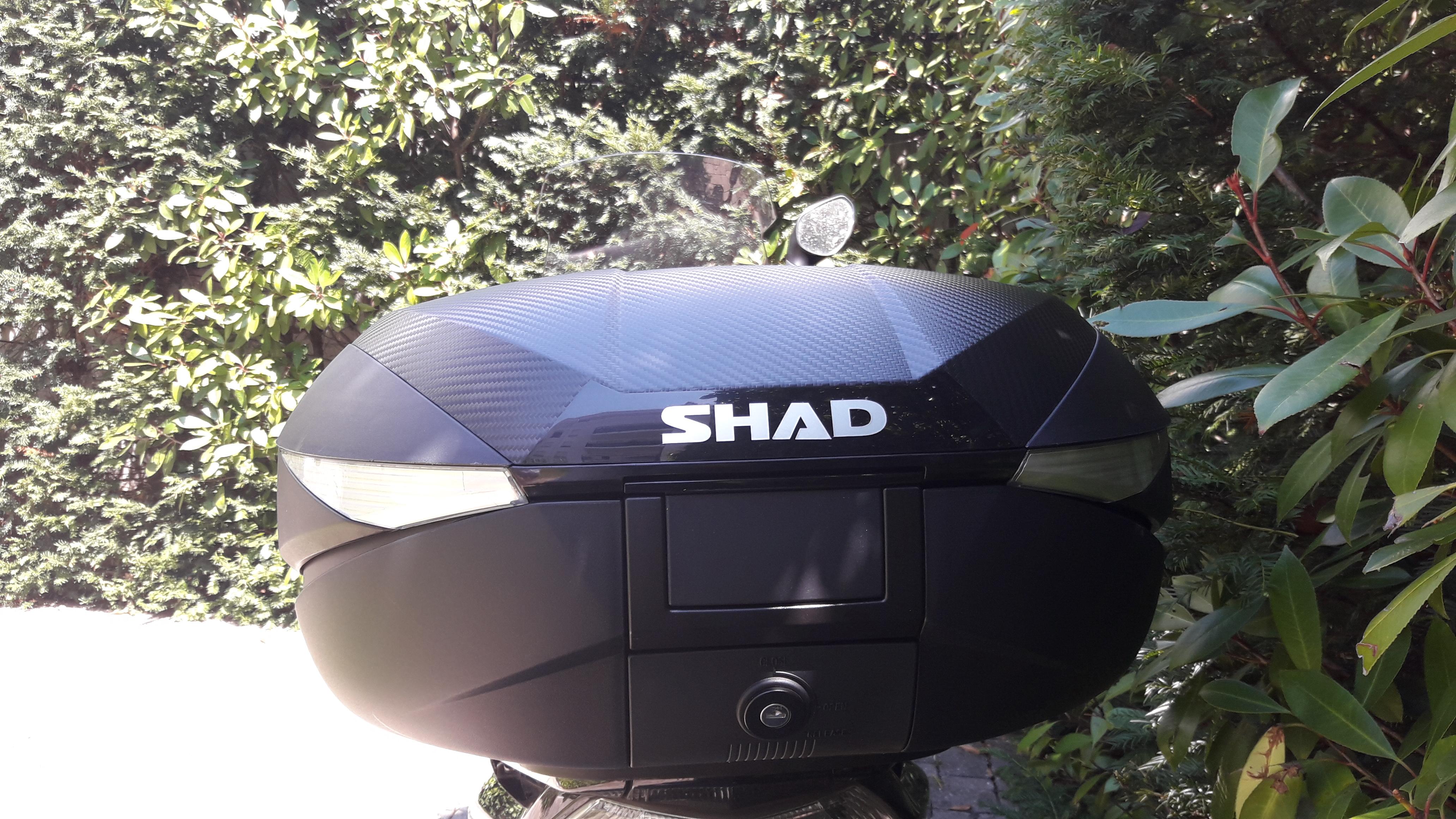 Design du top case Shad SH 58X