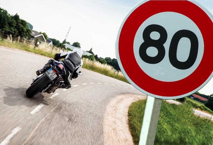 80 km/h à moto : l'infographie Tomtom Motoblouz
