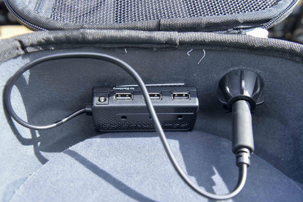 Le hub de rechargement Givi disponible en option