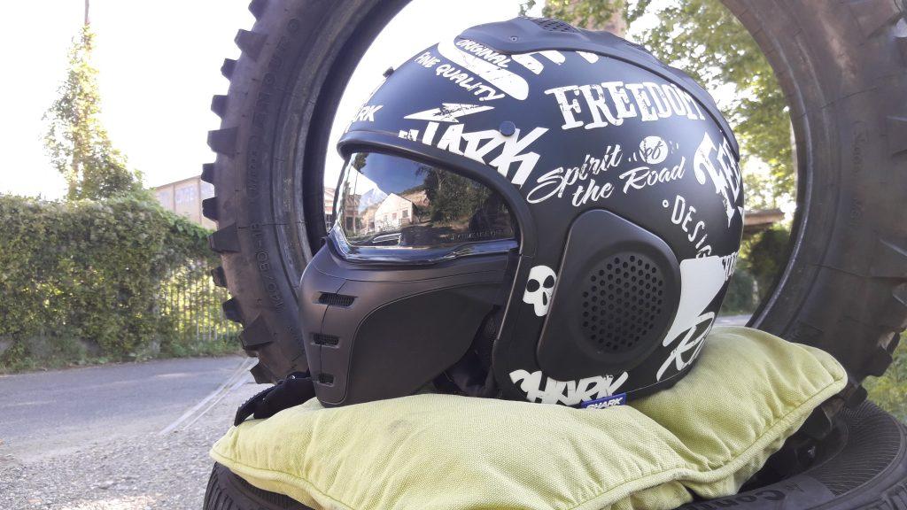 Le casque jet Shark X-Drak avec écran et masque