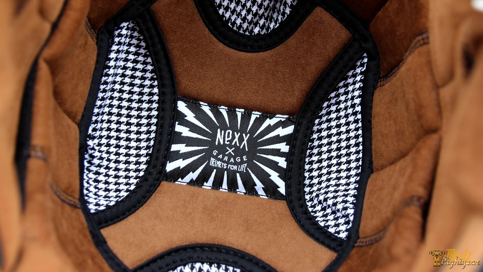 Intérieur en textile pour le casque NEXX X.G100 Racer