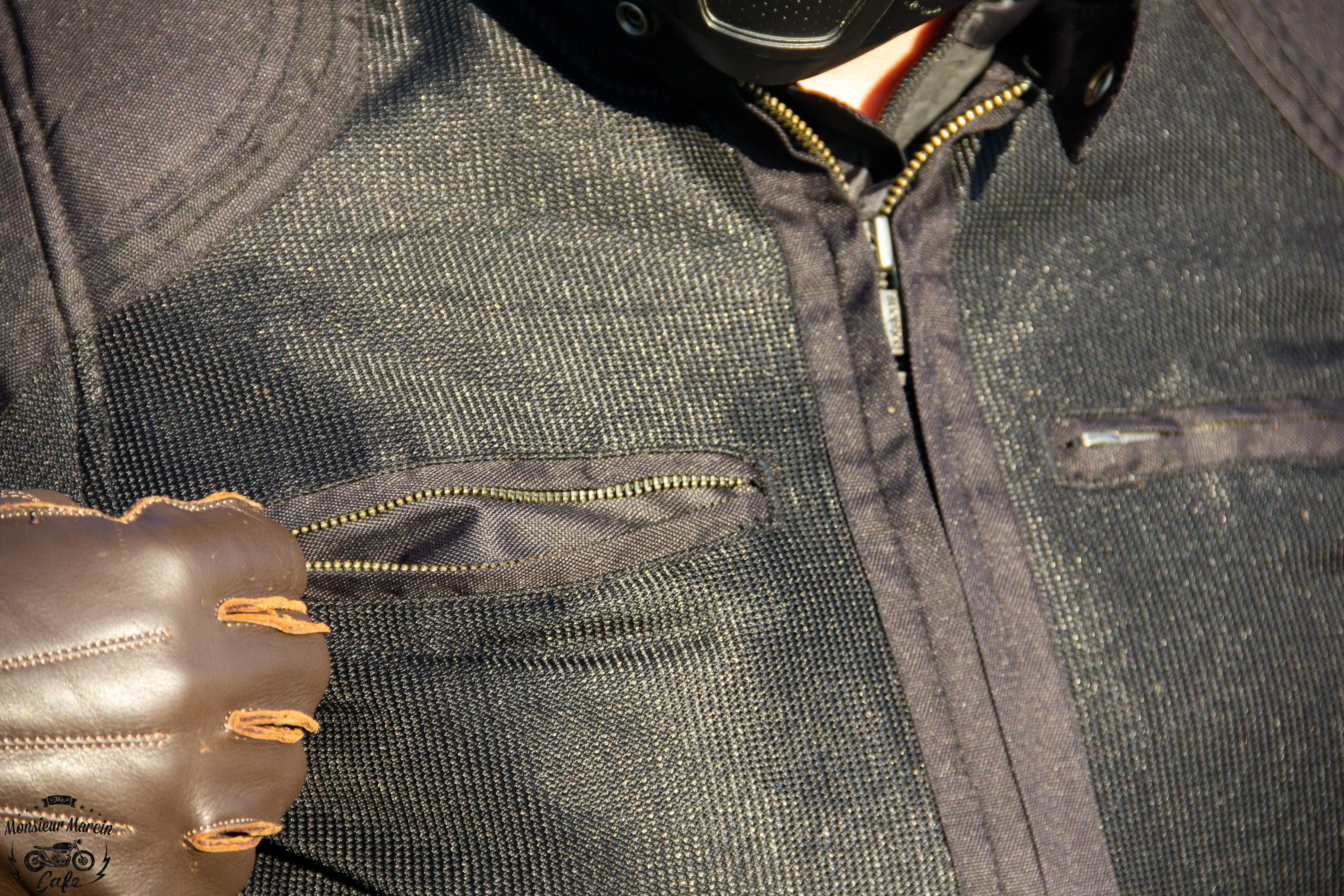 Blouson Helstons Modelo Mesh : poches sur le torse