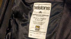 Etiquette dans le blouson Helstons Modelo Mesh