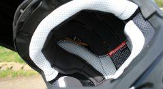 Intérieur du casque Shoei VFX-WR