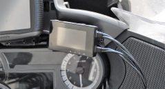 Ecran de contrôle et boîtier central des caméras embarquées Tecno Globe TG Dash Cam