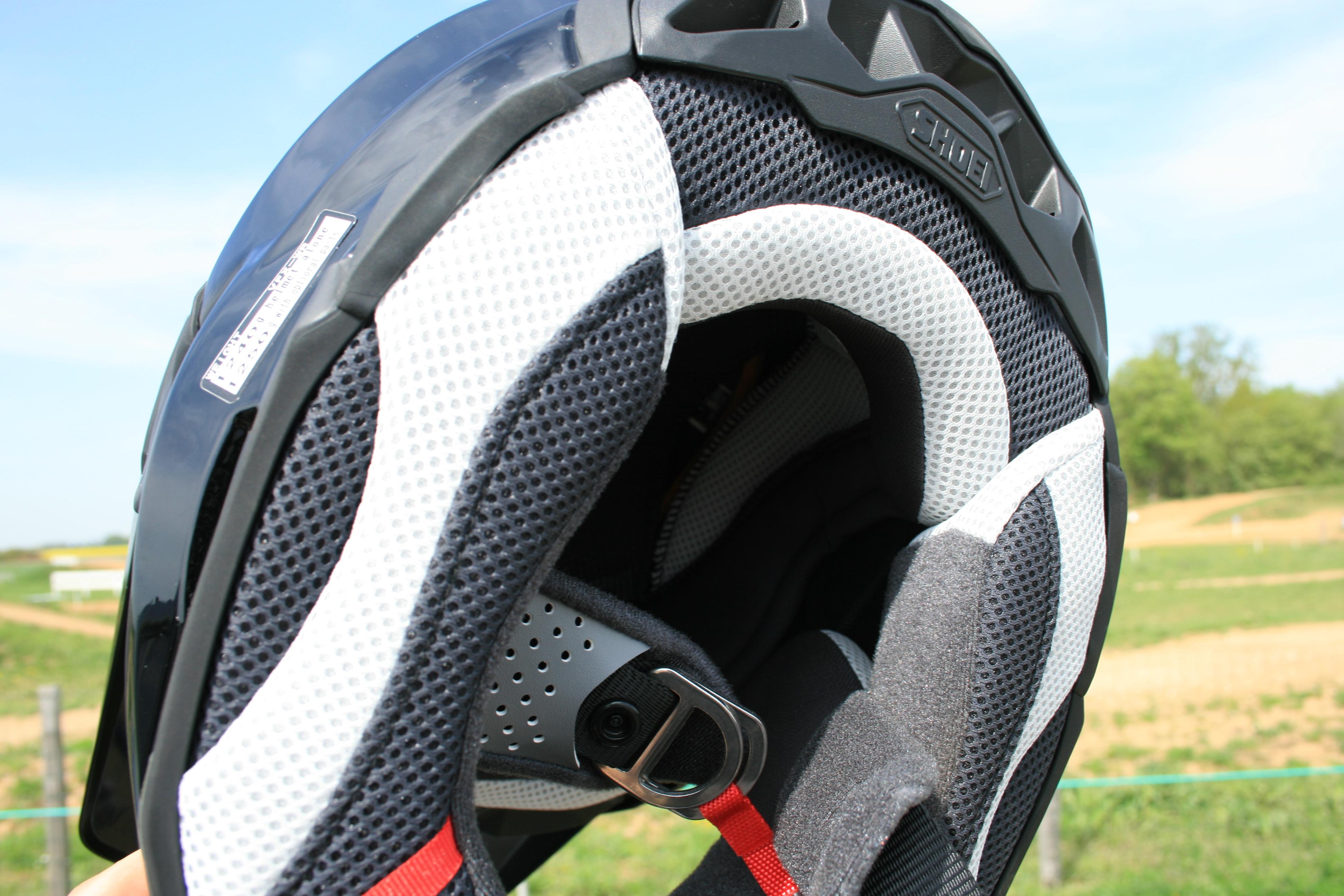 Système E.R.Q.S du casque Shoei VFX-WR