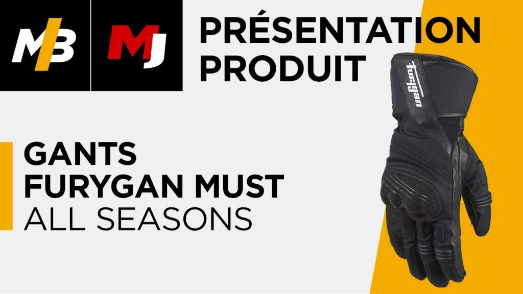 Gants Furygan Must All Seasons, l'essai vidéo par Moto Journal