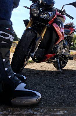Slider en magnésium sur les bottes TCX RT RACE PRO AIR