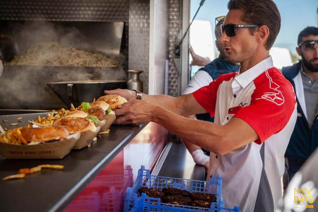 Food Truck le Comptoir Volant au MX Days Motoblouz