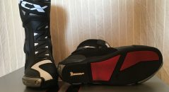 Semelle Michelin sur les bottes TCX RT RACE PRO AIR