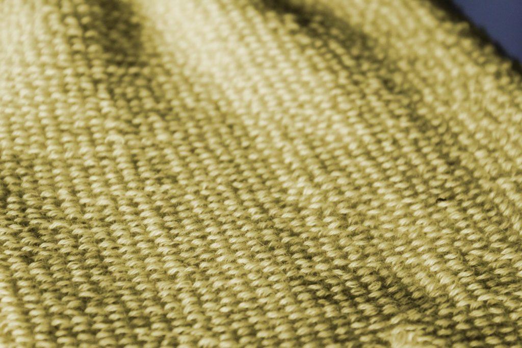 Ce type de tissage permet d'augmenter les qualités de résistance à l'abrasion du Kevlar®