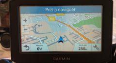 Indications du GPS Garmin 346 LMT-S