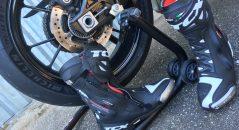 Bottes TCX RT RACE PRO AIR sur le paddock