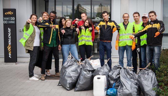 World CleanUp Day chez Motoblouz
