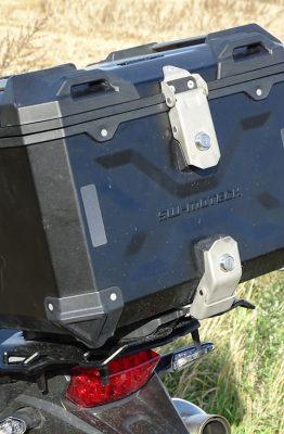 Le Sw Motech Trax ADV est un vrai Top Case de Baroudeur
