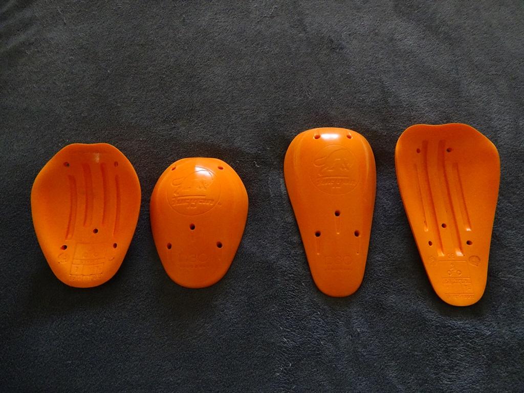 Protections en D3O de la veste Furygan Zeno