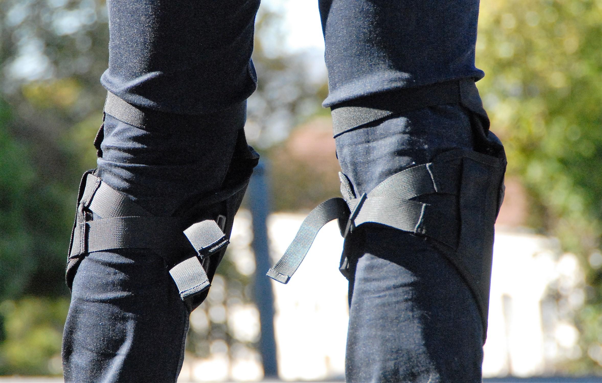 Sangles de fixation genouillères Icon Street Knee