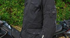 Vue de profil de la veste Furygan Zeno