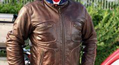 Blouson Helstons Reno, blouson de cuir de qualité