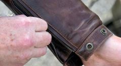 détails du blouson Helstons Reno
