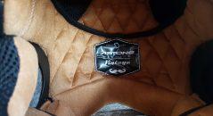 Petits détails sur l'étiquette intérieure du casque Astone SUPER RETRO