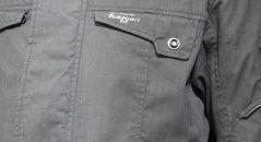Entrée d'air AFS sur la veste Furygan Zeno