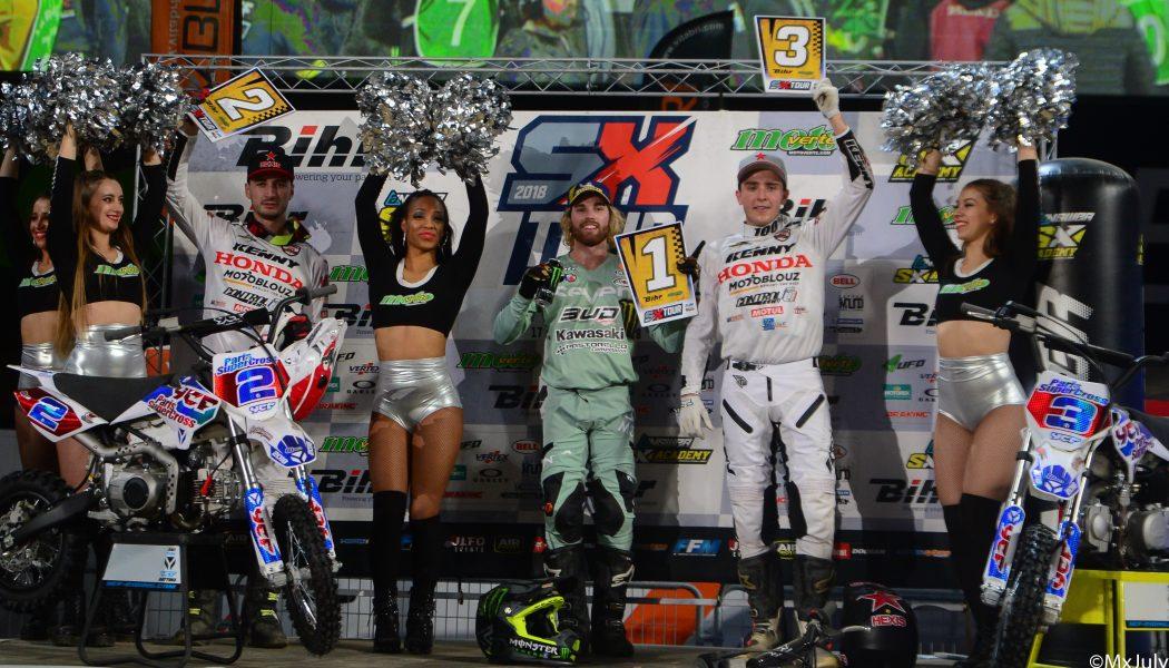 Team Honda SR Supercross Paris