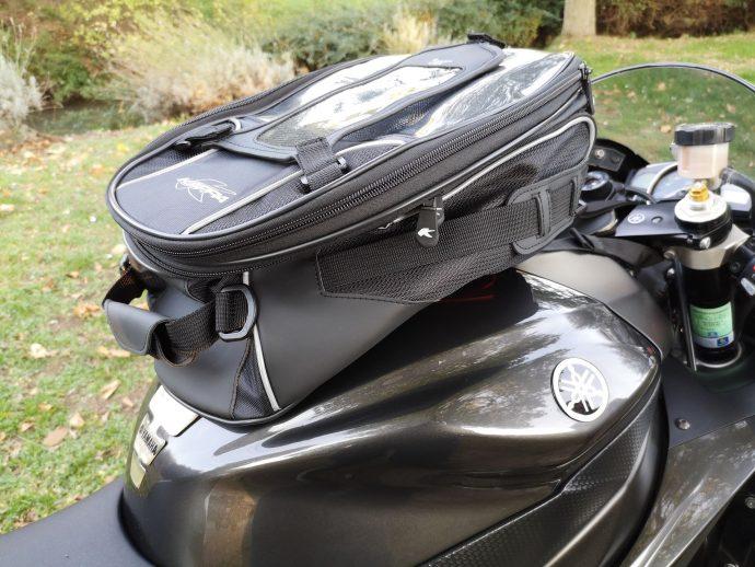 Le Kappa RA311R sans son renfort devient un sac entièrement souple