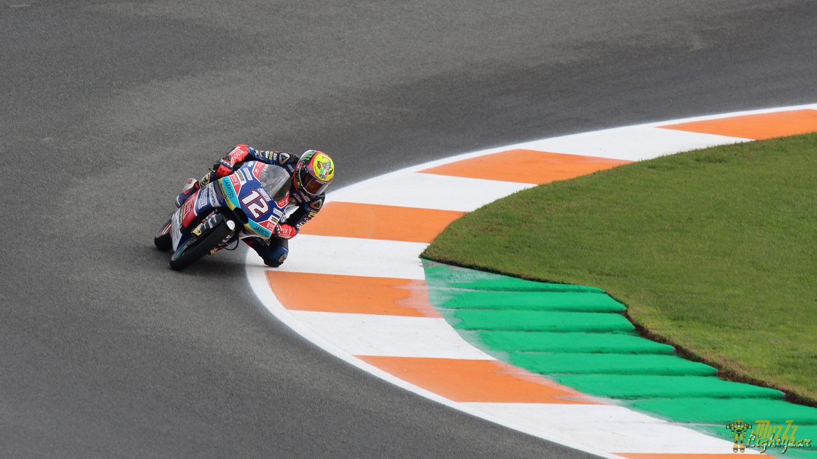 Marco Bezzecchi sur le MotoGP Valence 2018