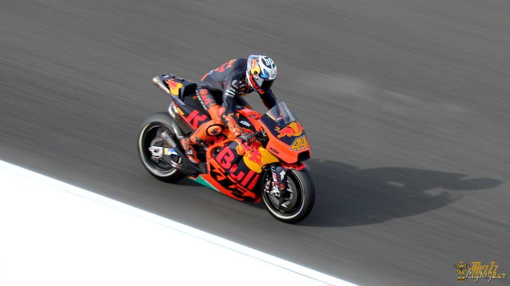 Pol Espargaro, 3ème sur sa KTM, au MotoGP Valence 2018