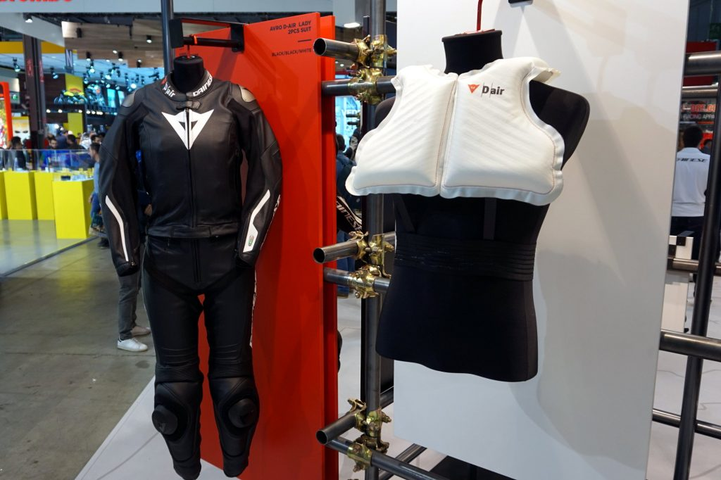 Airbag moto Dainese D-Air Lady