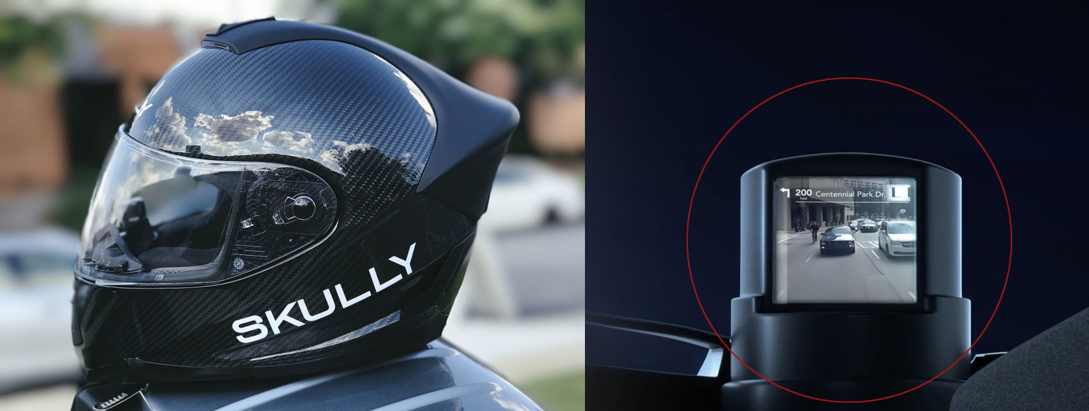 Le casque Skully Fenix AR et son module HUD
