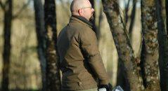 Format mi-long pour la veste Helstons Lincoln