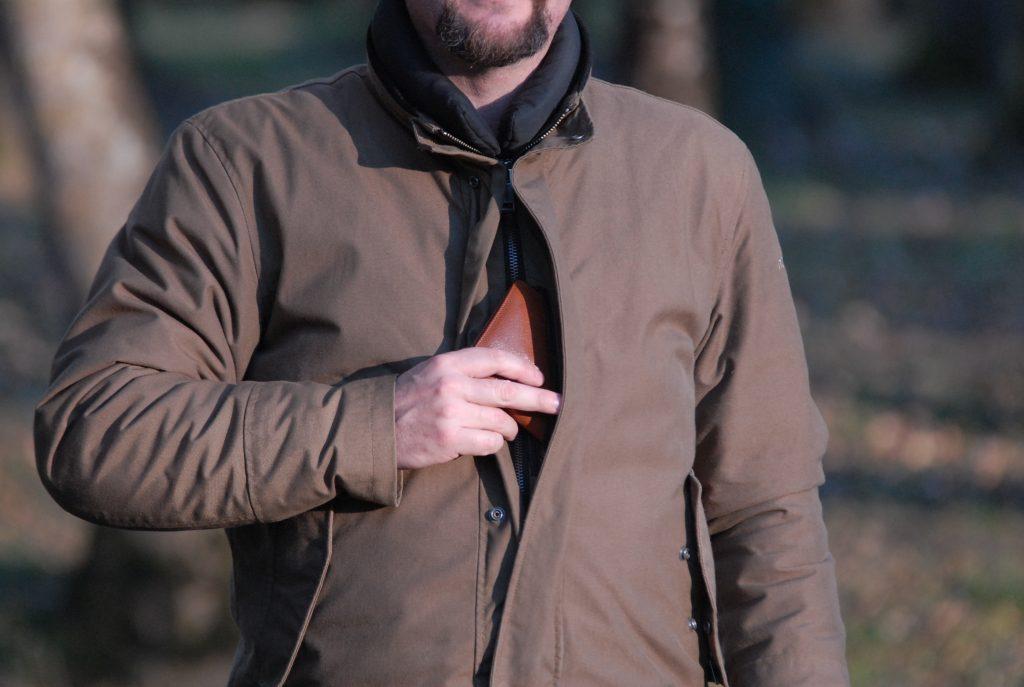 La veste Helstons Lincoln et ses multiples poches