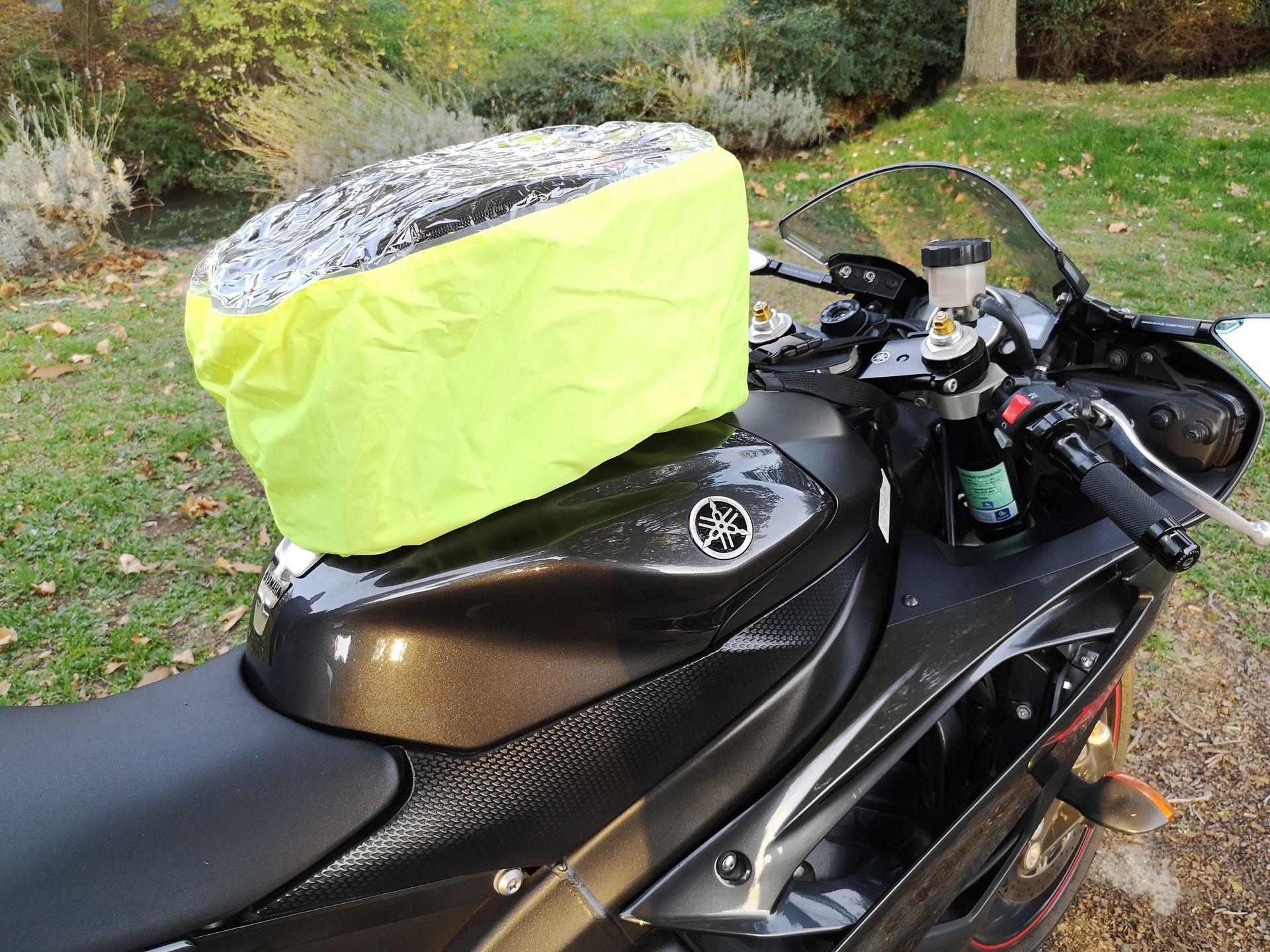 Housse de pluie haute visibilité pour la sacoche de réservoir Kappa RA311R