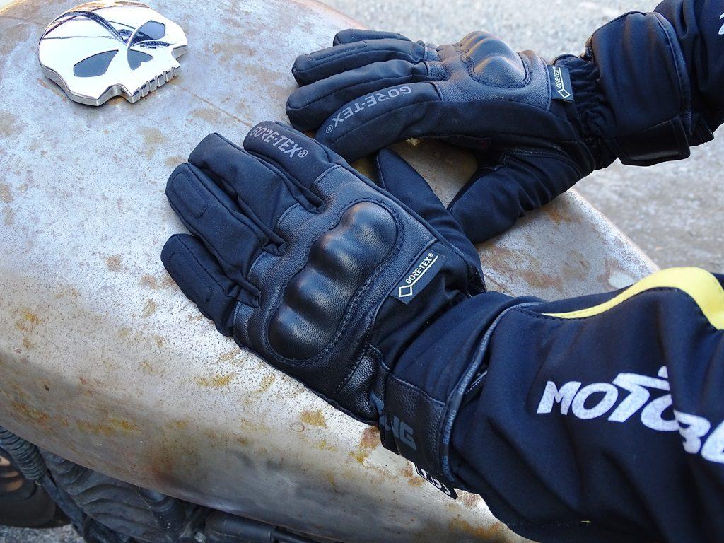 La finition des gants hiver Bering Yucca est excellente