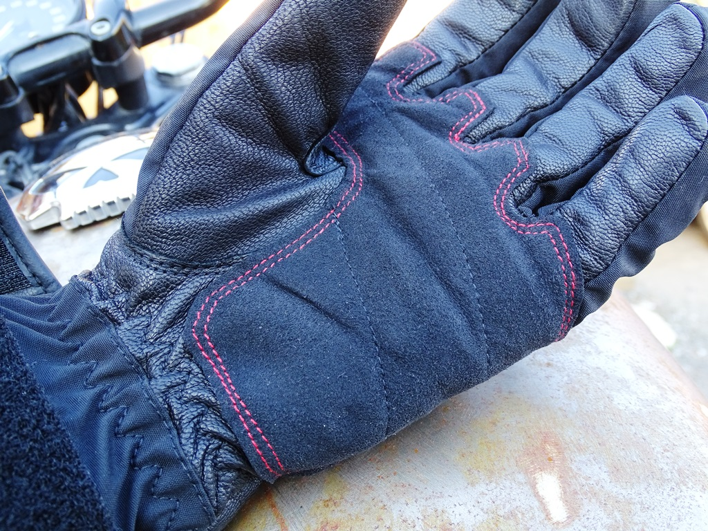 Paume en Amara pour les gants hiver Bering Yucca