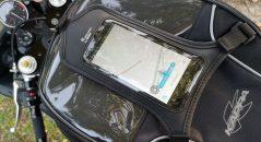 La sacoche de réservoir Kappa RA311R et pochette téléphone