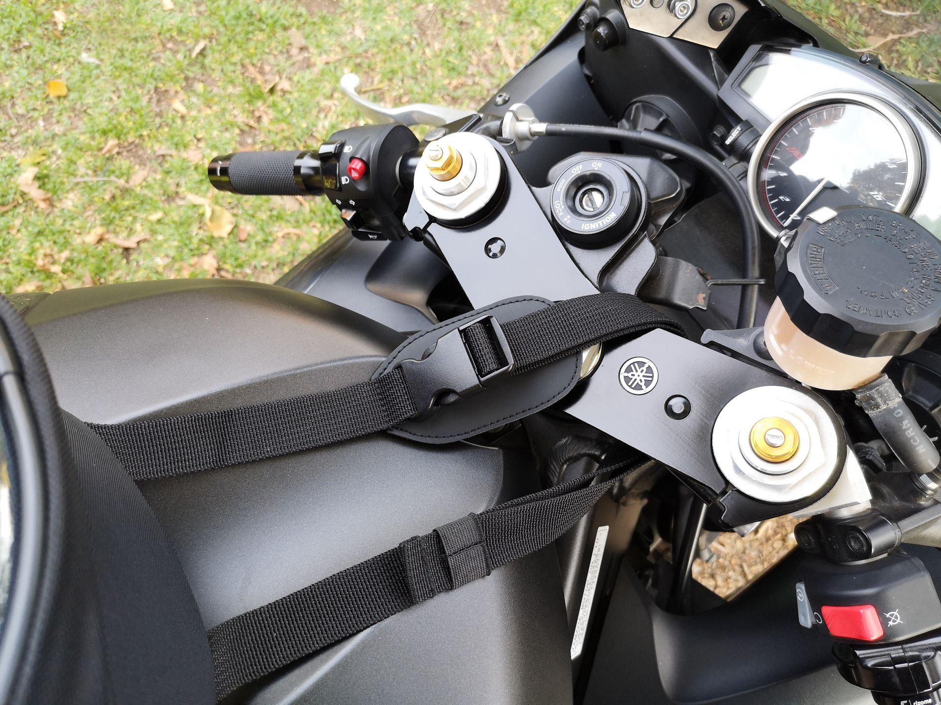 Sangle de sécurité de la sacoche de réservoir Kappa RA311R