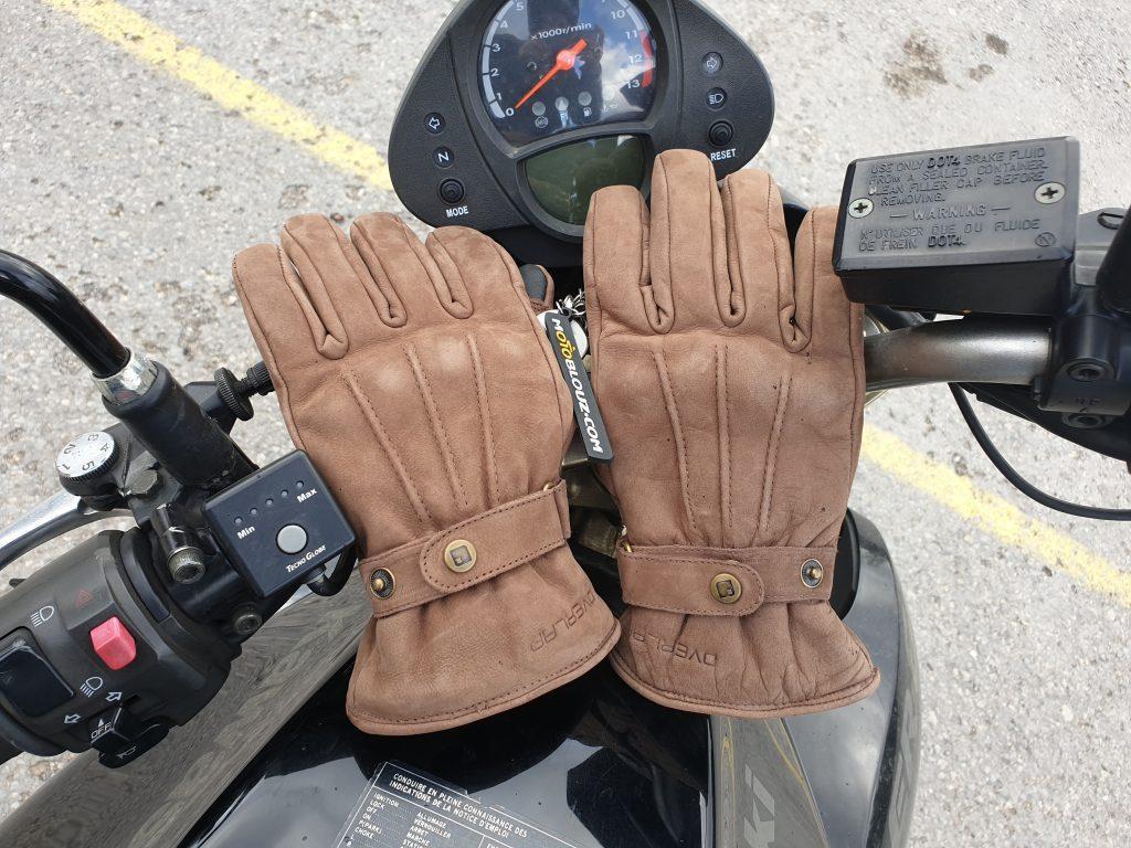 Les gants Overlap London Lady