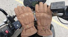 Joli cuir suédé des gants Overlap London Lady