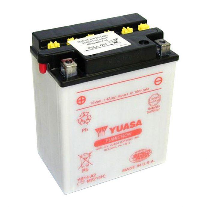 Batterie moto conventionnelle