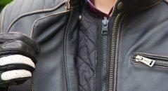 Doublure du blouson cuir Helstons Yukon